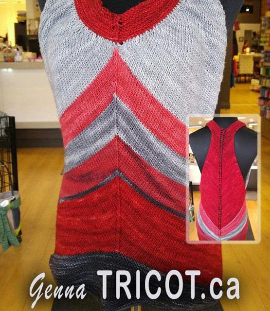 Développement boutique Genna Tricot