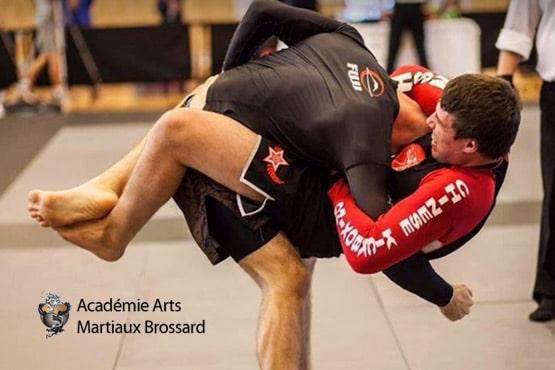 Site Web - Academie arts martiaux brossard