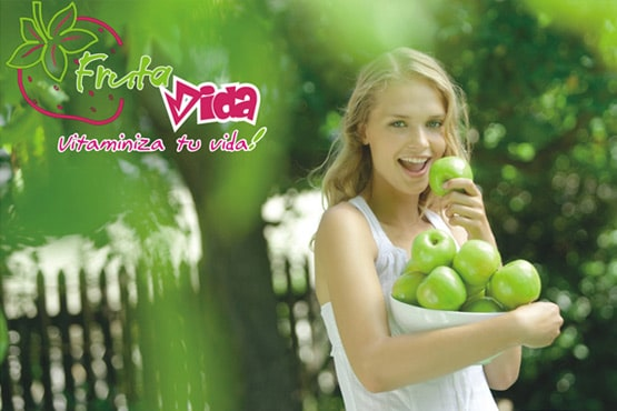 Conception site Web Fruta Vida