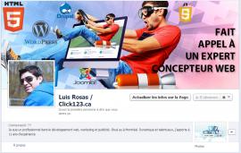 Facebook – Luis Rosas Click123.ca
