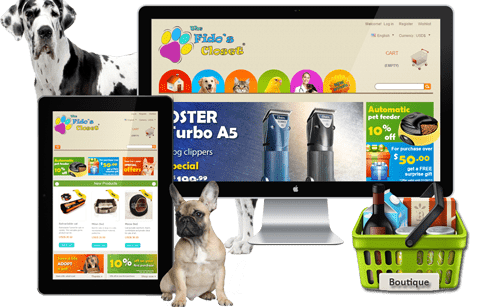 Boutique Prestashop - The Fido's Closet