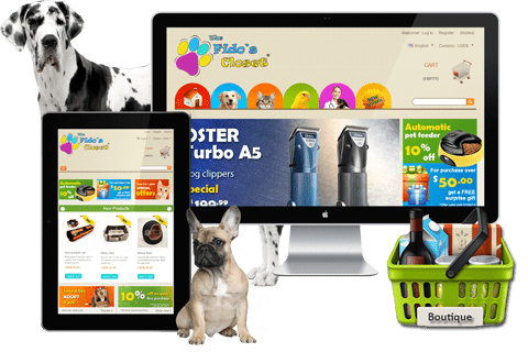 Boutique Prestashop – The Fido's Closet