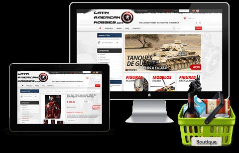 Design Magasin en ligne