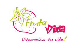 Conception logo Fruta Vida