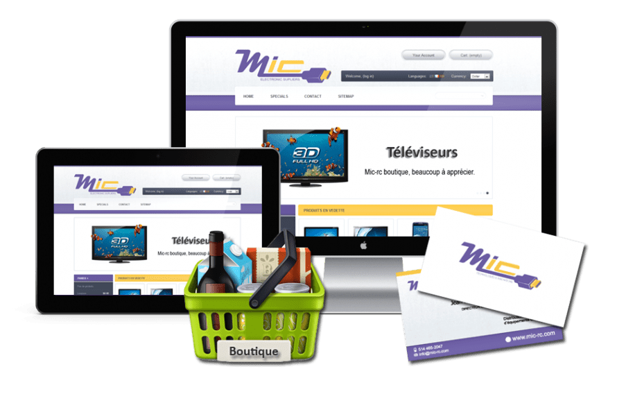 Boutique Prestashop Mic-Rc Technologies & Innovation
