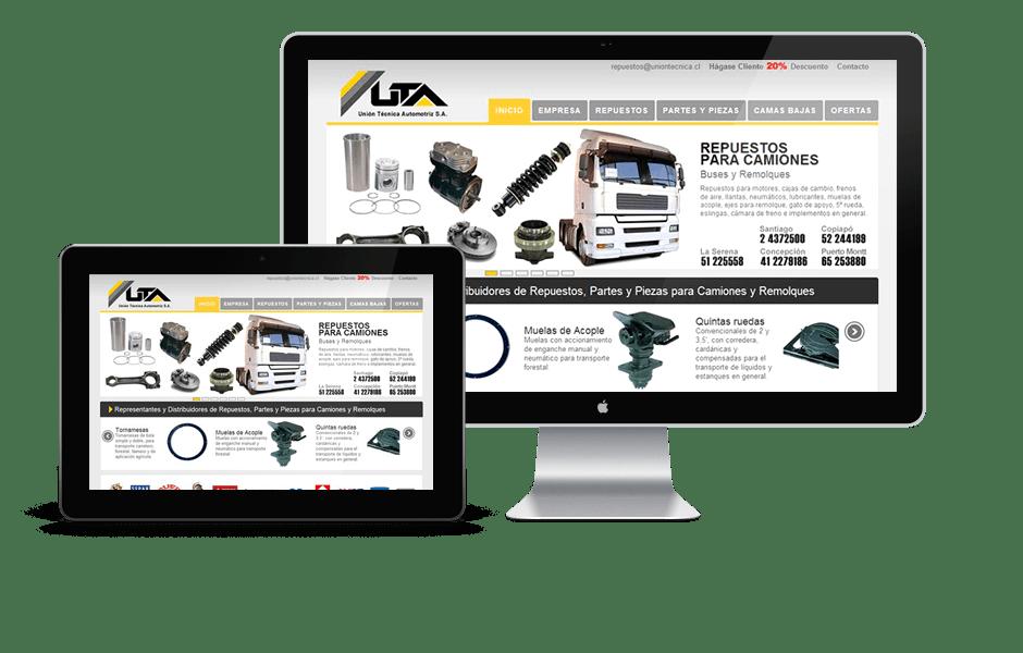 Portfolio Web UTA