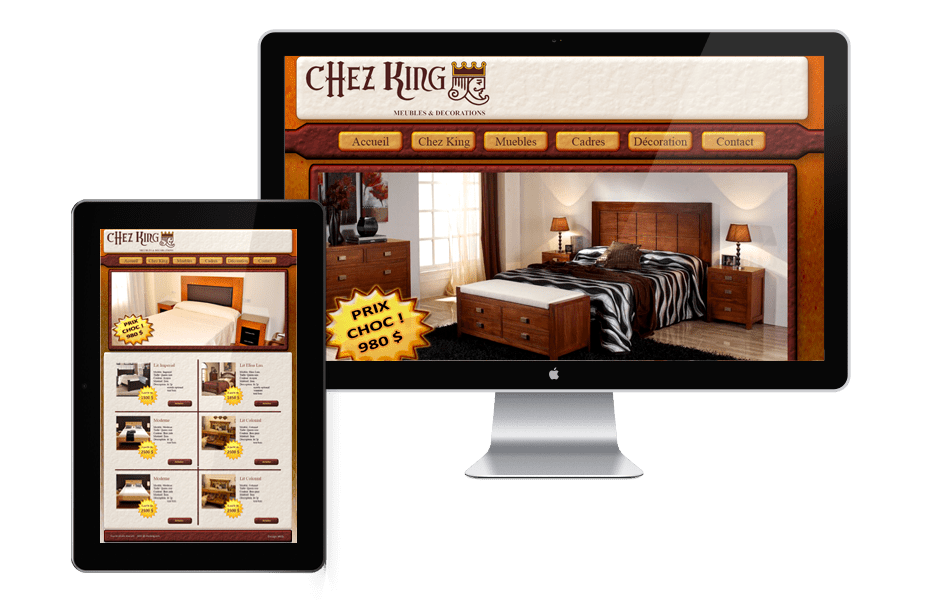 Portfolio Web Chez-King