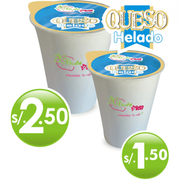 Produit Queso helado Fruta Vida