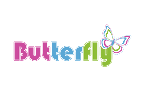 Conception Logo Butterfly