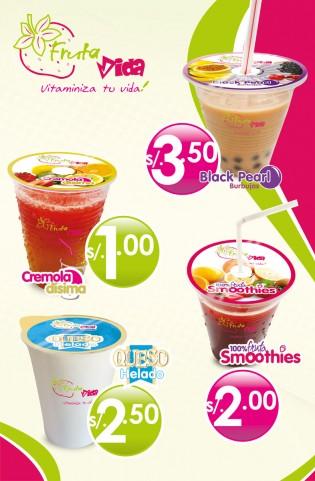affiche produits Fruta Vida