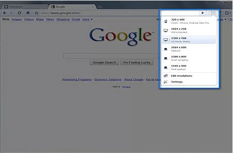 extensions Google Chrome Windows Resizer