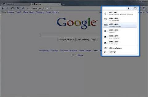 extensions Google Chrome Windows Resizer