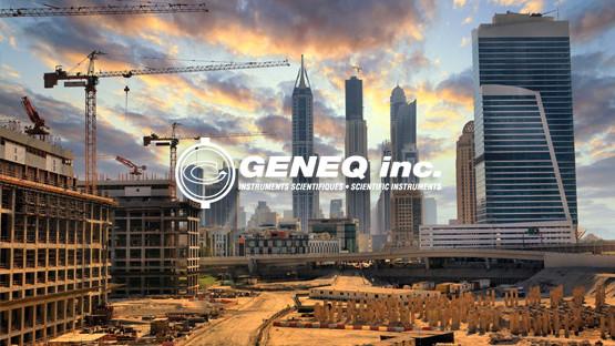 Geneq, conception et développement Web, application Web